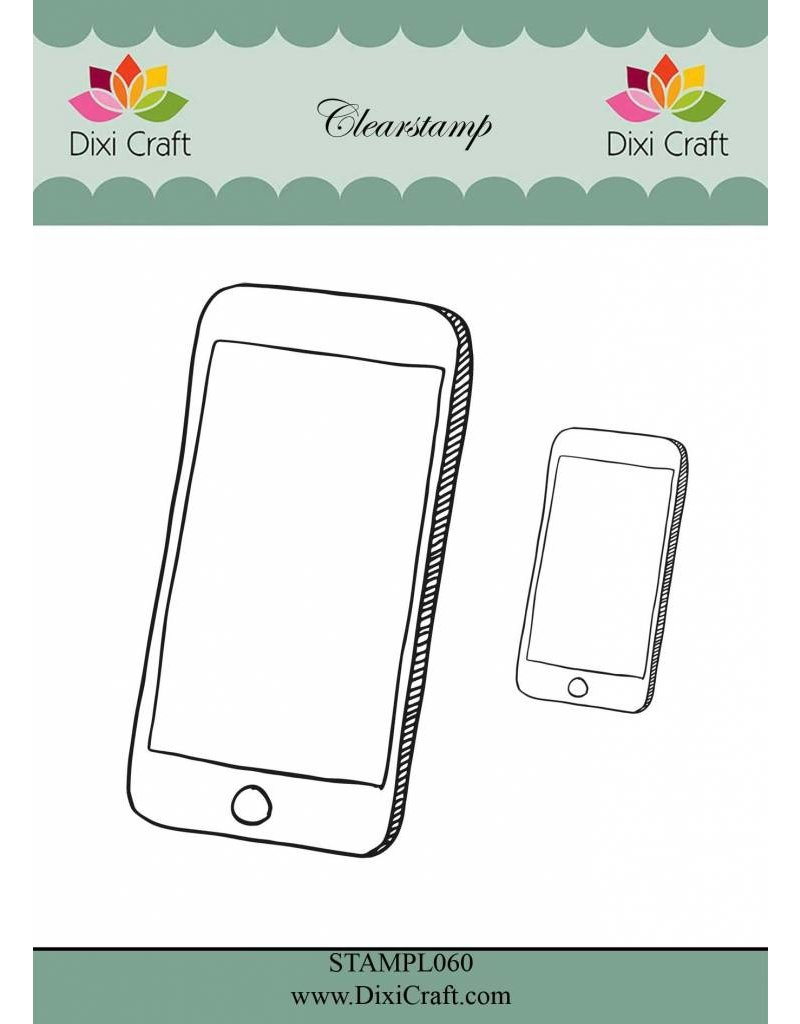 Dixi Craft Smartphone Clear Stamps