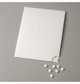 560 x Klebekissen, Weiß