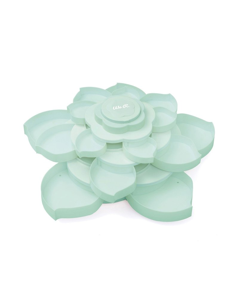 We R Memory Keepers Embellishment storage bloom Mint