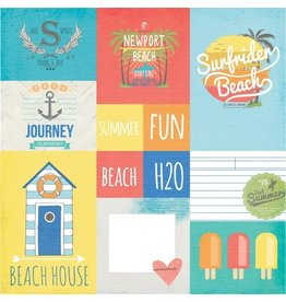 Simple Stories Summer Fun Elements 2  Bogen  12x12