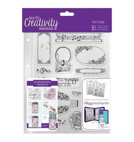 Papermania Clear Stamps Sets   Musicality   A5