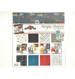 Simple Stories Hey Pop Collection Kit 12x12 Simple Stories