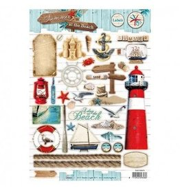 Studiolight A4 Bogen Stanzteile Summer at the Beach  474