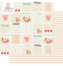 Websters  Pages Note of the Day Sheet 12x12 Webster`s Pages
