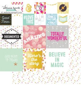 Websters  Pages Storyteller Card 2 12x12 Webster`s Pages