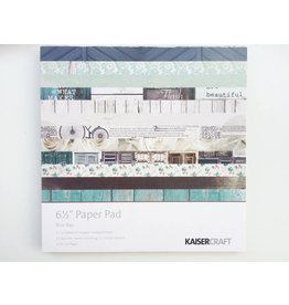 Kaisercraft Blue Bay Paper Pad 6,5x6,5 von Kaisercraft