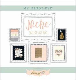 My Mind`s Eye MME - Niche - Fancy That -  Gallery Art Pad 12x12