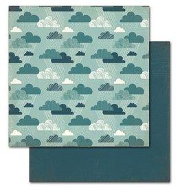 Kaisercraft Mon Ami Nuage 12x12 Cardstock