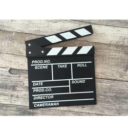 Filmklappe / Regieklappe  20x20 cm