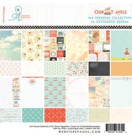 Websters  Pages Our Travels  Paper Pad 6 x 6 von Websters Pages