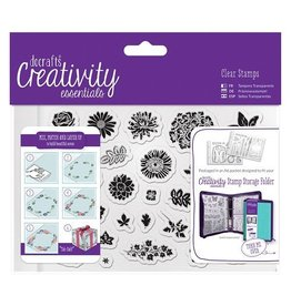 Papermania Clear Stamps Sets   Trad Floral   A6