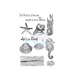 Sweet Dixie Clear Stamps Sets Sea Creatures A6
