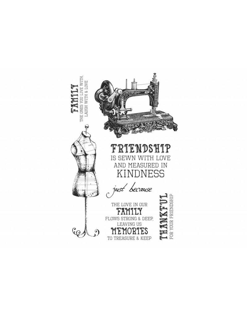 Kaisercraft Clear Stamps Set   Mademoiselle von Kaisercraft