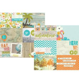 Simple Stories You Are Here! Journaling Card Elements 12x12