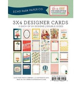 Echo Park it`s a CELEBRATION 3x4 Journal Cards