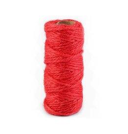 10m Rolle Sisal Kordel Ø2 mm  Rot