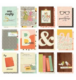 Simple Stories The Reset Girl 3x4 Pocket Cards