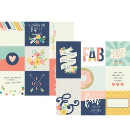 Simple Stories Posh 4x4 and 4x6 vertical Journaling Elements