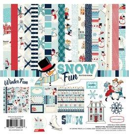 Carta Bella Snow Fun 12x12 Inch Collection Kit von Carta Bella