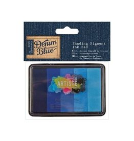 Papermania Shading Pigment Ink Pad - Denim Blue