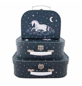 Retro Koffer 3er-Set Starlight Unicorn