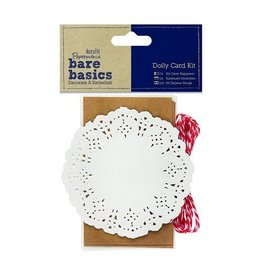Papermania Kraft Doily Card Kit