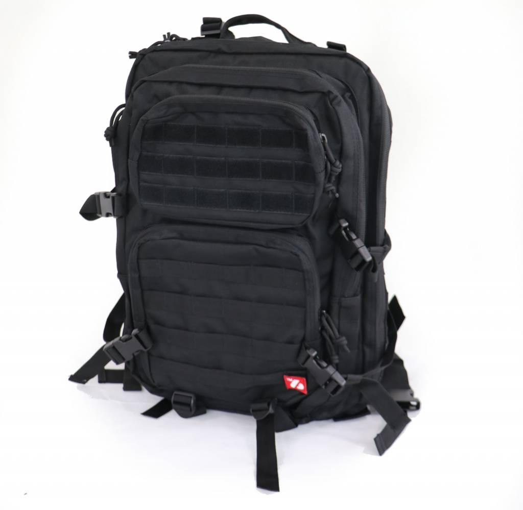 TACTICAL BAG sac militaire noir  M ou L