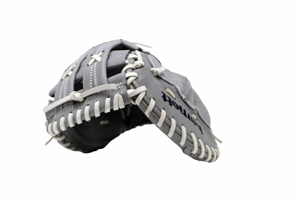 """FL-201"""" gant de baseball cuir haute qualité catcher, gris clair"""