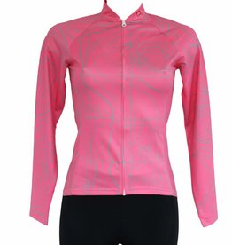 - Textile Vélo - Maillot manches longues ROSE