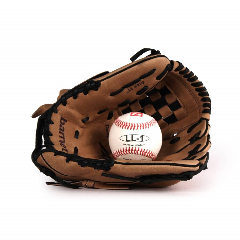 GBSL-3 Kit de baseball gant et balle senior cuir (SL-110, LL-1)