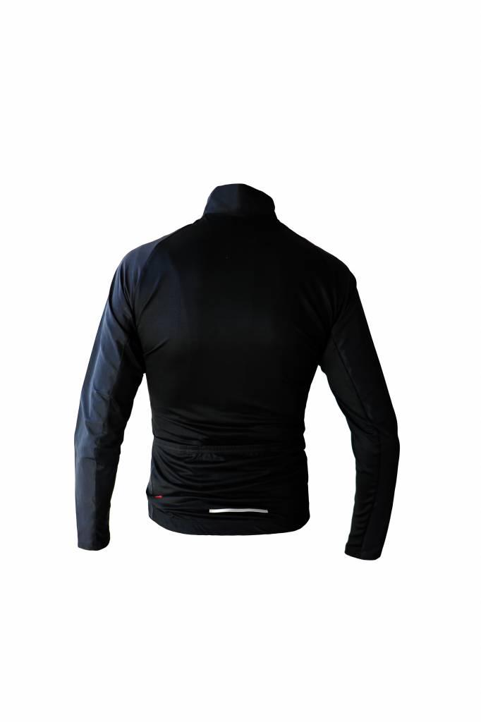 Textile Vélo - Veste manches longues, coupe-vent noir et blanc