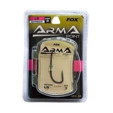 Fox arma point hook ls barbed | 10 st | karperhaken