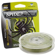 Spiderwire stealth glow vis 137M | gevlochten lijn