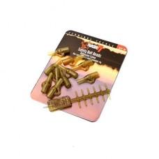 Nash safety bolt beads | diffusion camo | 10 pcs