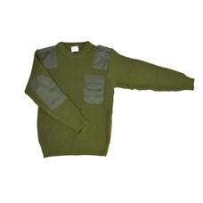 Commando pullover groen acryl | groen | large