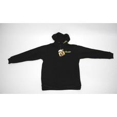 Gamakatsu zipped hoody black | trui