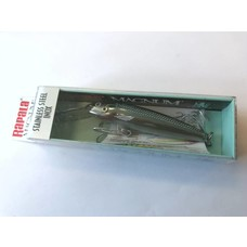 Rapala magnum GSS MAG green stainless steel inox sinking | plug