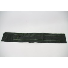 Green leather holdall 1.65m