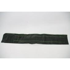 Groen leren foudraal 1.65m | holdall