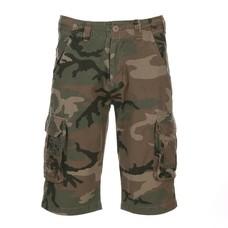 Kosumo infantry stone washed camouflage green   shorts