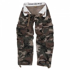 Kosumo infantry stone washed camouflage green | pants