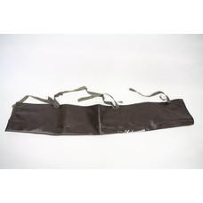 Shakespeare vintage black leather holdall