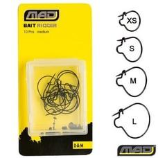MAD bait riggers | 10 pcs