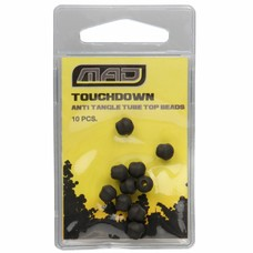 MAD touchdown anti tangle tube top beads | tungsten | 10 pcs
