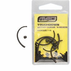 MAD touchdown withy curva 'n beads | hook 7-10 | 6 pcs