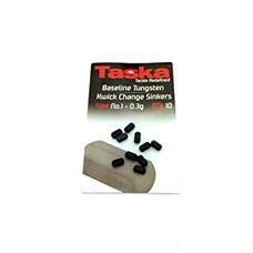 Taska baseline tungsten kwick change sinkers no.1 - 0.3g | 10 st