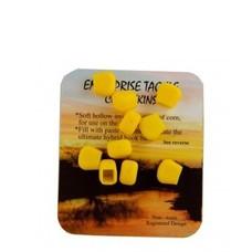 Enterprise tackle corn skins 8mm | 10 pcs | imitation corn skins