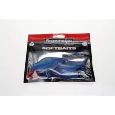 Rozemeijer softbaits flash-tail 13cm blauw | 4 st | shads