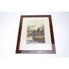 La peche fishing print | 35x45cm
