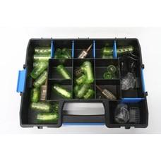 Tacklebox met voerkorven | 30 st